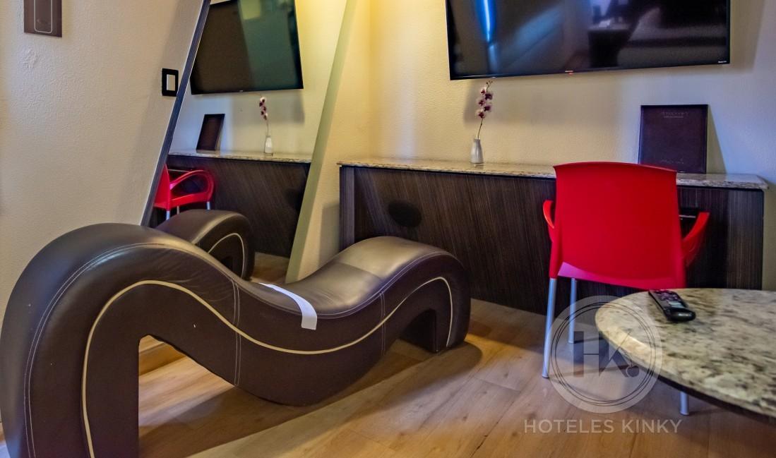 Habitaciòn Torre Suite & Alberca del Love Hotel La Moraleja Villas & Suites