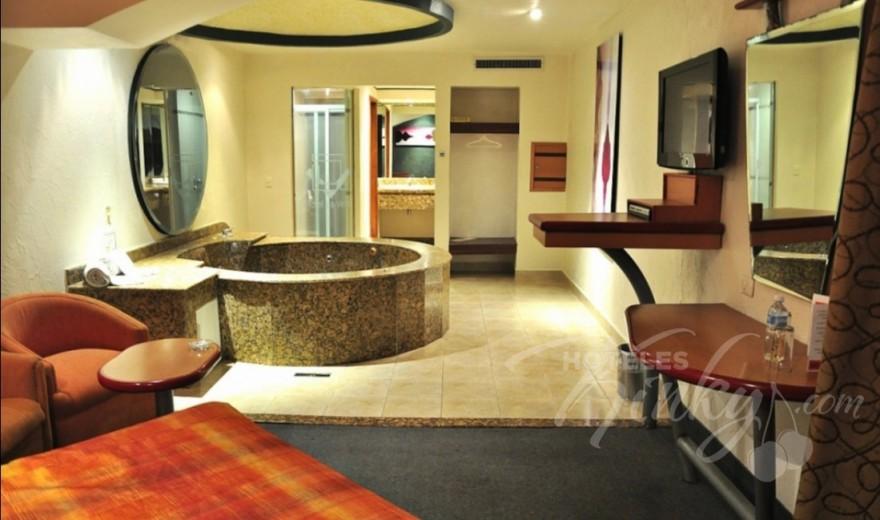Love Hotel La Venta, Habitacion Villa Jacuzzi