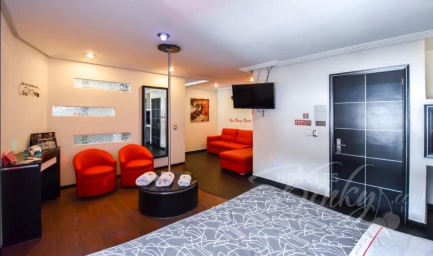 Love Hotel M Motel & Suites - Eje 6 Sur, Habitacion Villa Luxor