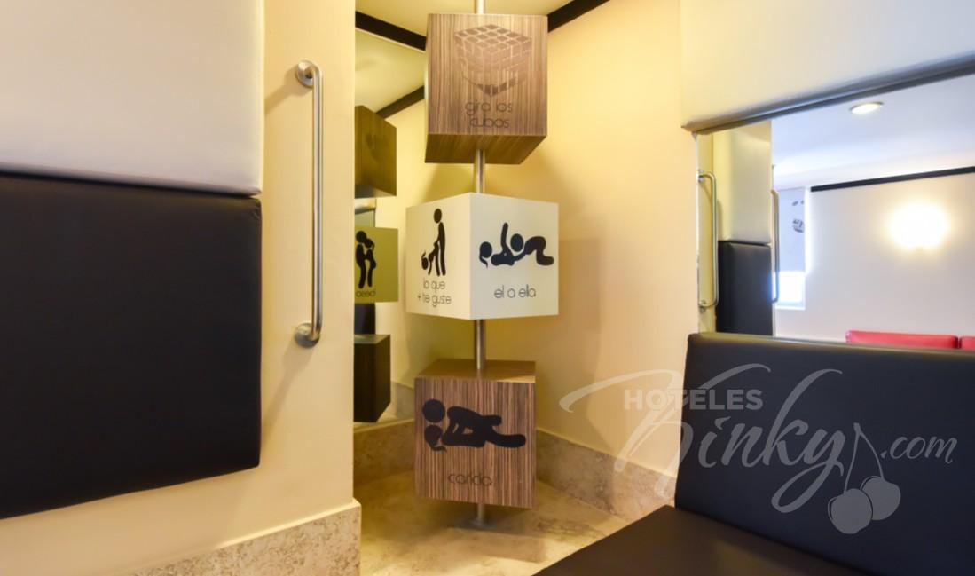 Love Hotel M Motel & Suites - Tláhuac, Habitacion Master Suite