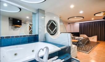Love Hotel Marqués del Peñón, Habitación Motel Suite c/Jacuzzi