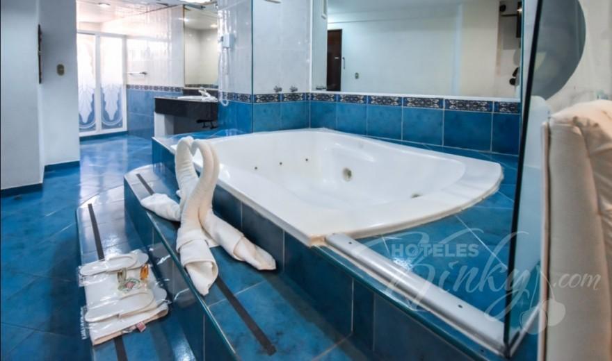 Love Hotel Marqués del Peñón, Habitacion Motel Suite c/Jacuzzi