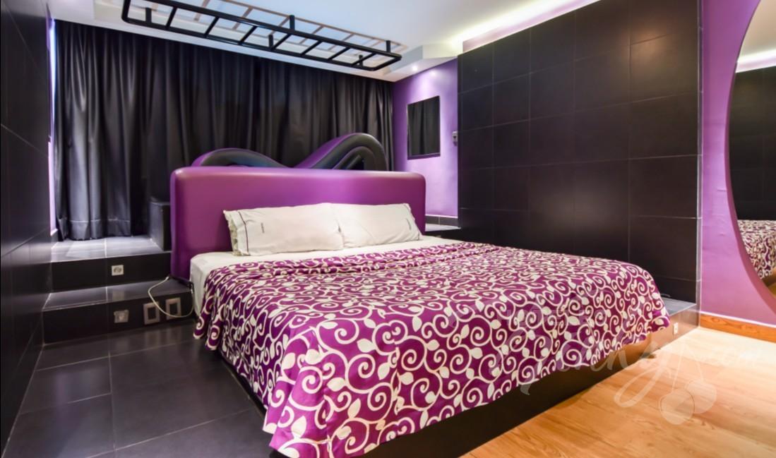 Love Hotel Maxíntimo, Habitacion Villa Sencilla