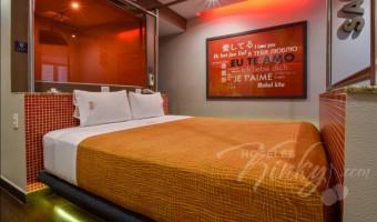 Love Hotel Metrópolis, Habitación Villa Satandard