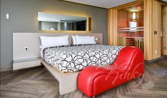 Love Hotel Metropolitan, Habitación Torre Master Suite
