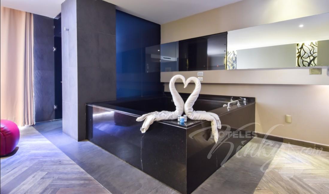 Love Hotel Metropolitan, Habitacion Villa Jacuzzi