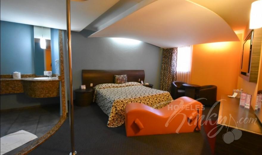 Love Hotel La Flor , Habitacion Sencilla