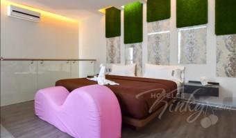 Love Hotel Motel Mink , Habitación Jacuzzi con Sauna