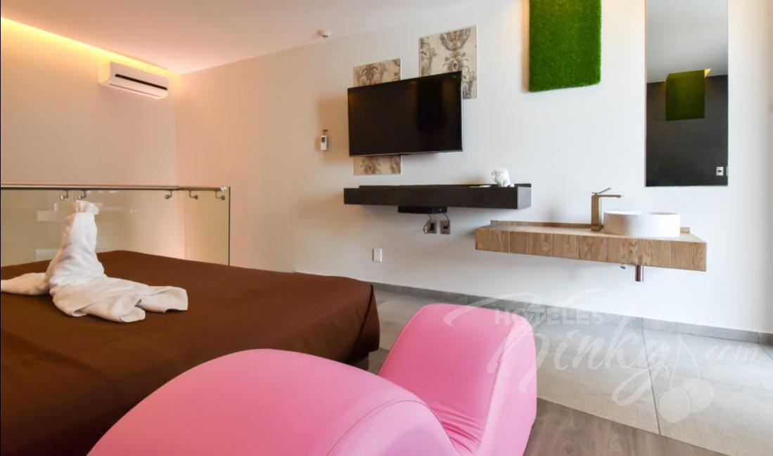 Habitaciòn Suite  del Love Hotel Motel Mink
