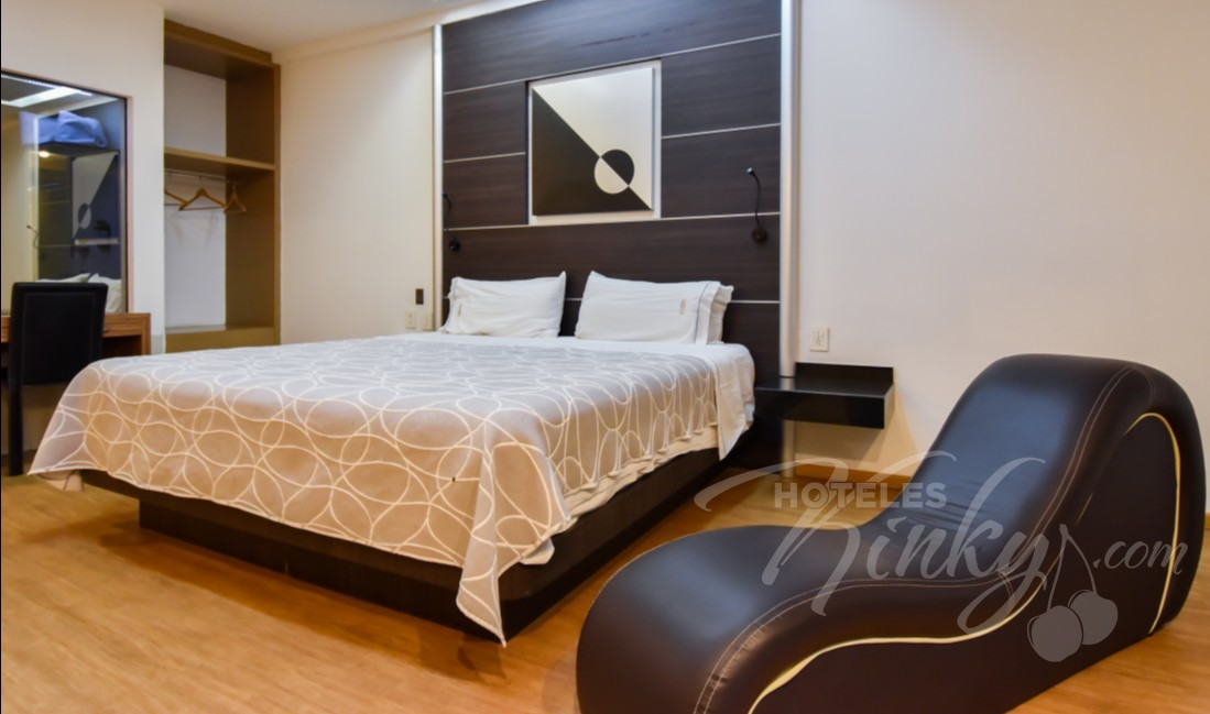 Love Hotel Novo Coapa, Habitacion Torre Jacuzzi Especial