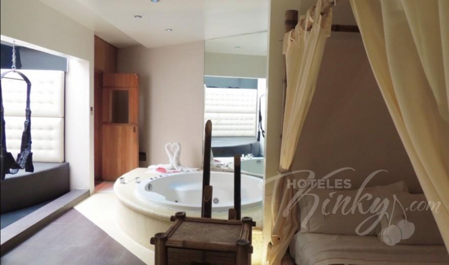 Love Hotel O´Gavilán, Habitacion Villa Jacuzzi - Sauna