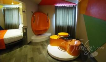 Love Hotel OH Oriente, Habitacion Master OH! Jacuzzi