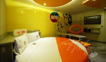 Love Hotel OH Oriente, Habitacion Suite Junior WOW!