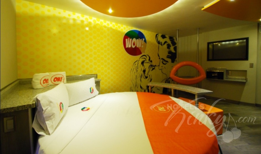 Habitaciòn Suite Junior WOW! del Love Hotel OH Oriente
