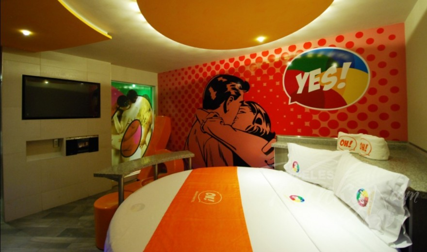 Love Hotel OH Oriente, Habitacion Suite Junior YES!