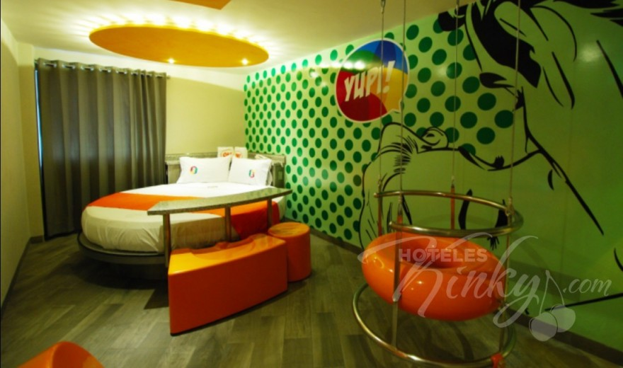 Habitaciòn Suite junior YUPI! / WUHU! del Love Hotel OH Oriente