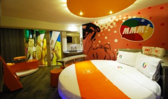 Love Hotel OH Oriente, Habitacion Villa MMM!