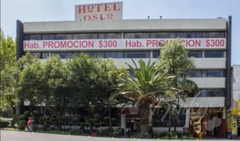 Love Hotel Oslo en la Zona Centro de la Ciudad de México