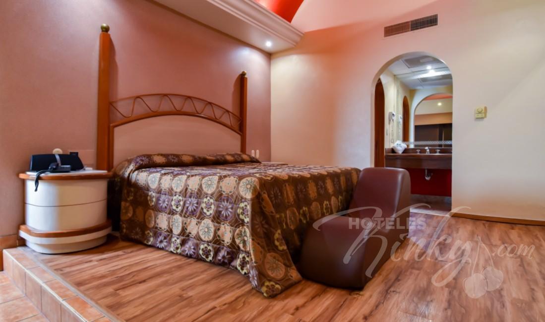 Love Hotel Paraíso del Sur, Habitación Villa Jacuzzi
