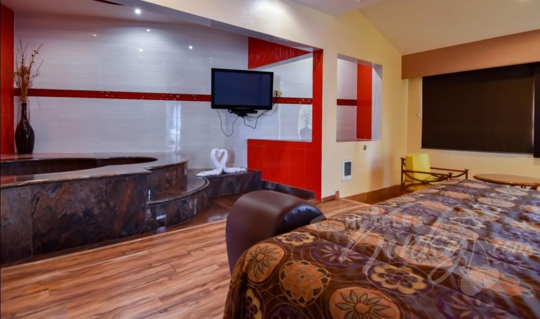 Habitaciòn Villa Jacuzzi del Love Hotel Paraíso del Sur