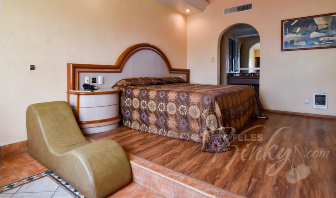 Love Hotel Paraíso del Sur, Habitación Villa Sencilla con Aire