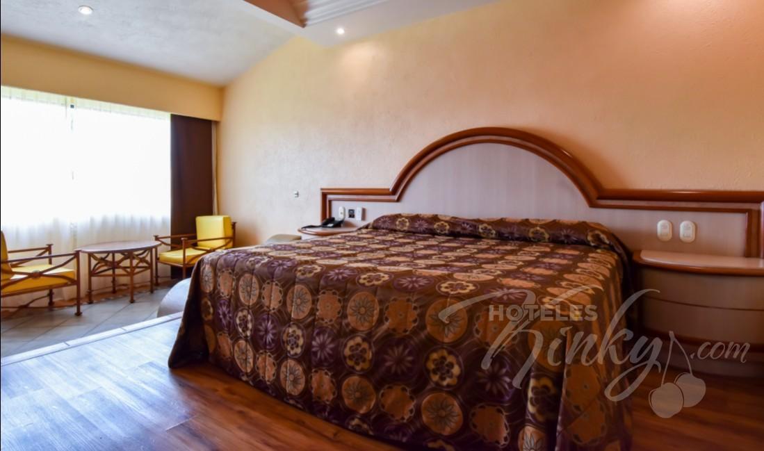 Love Hotel Paraíso del Sur, Habitacion Villa Sencilla con Aire