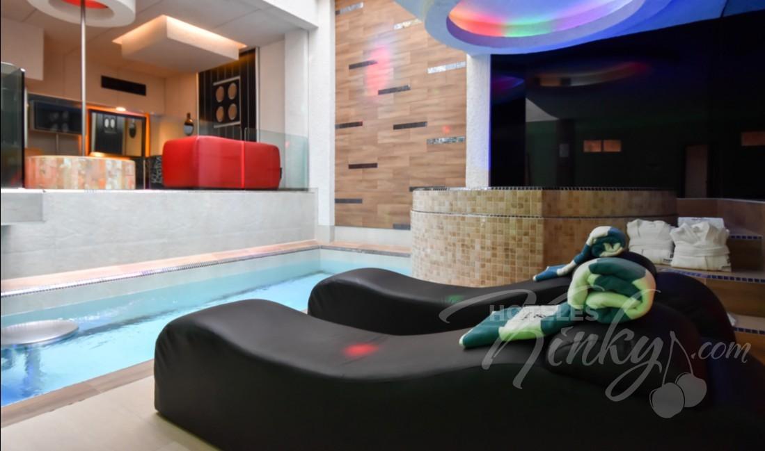 Love Hotel Pasadena Hotel & Villas , Habitacion Alberca Vip