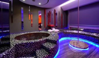 Love Hotel Patriotismo Hotel & Villas , Habitacion Torre Master Jacuzzi