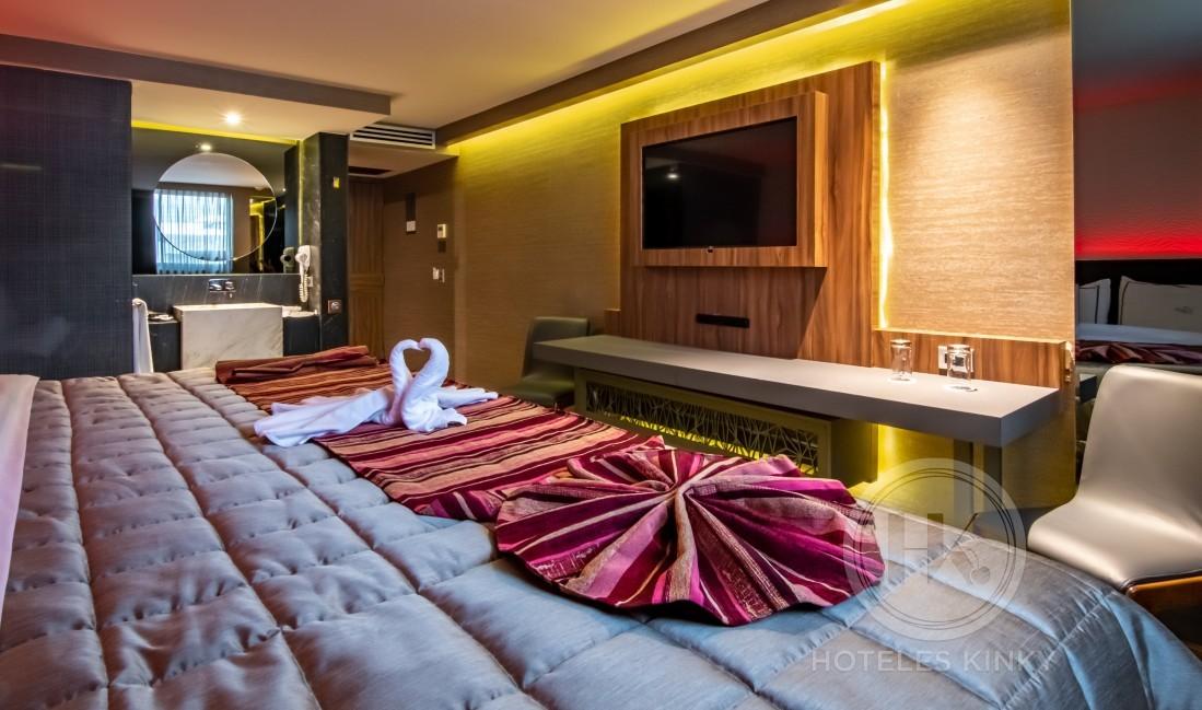 Habitaciòn Hotel Doble  del Love Hotel Picasso Circuito