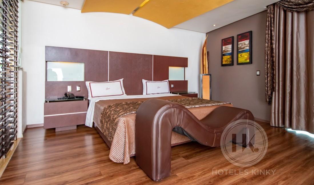 Love Hotel Picasso Tláhuac, Habitación Suite Jardín