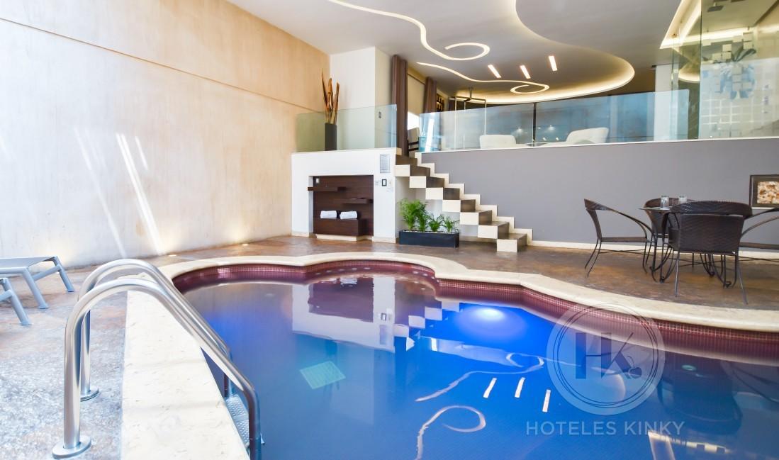 Love Hotel Picasso Toluca, Habitacion Alberca
