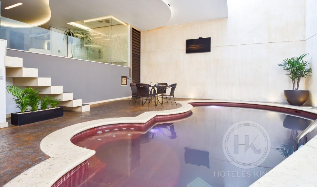 Habitaciòn Alberca del Love Hotel Picasso Toluca