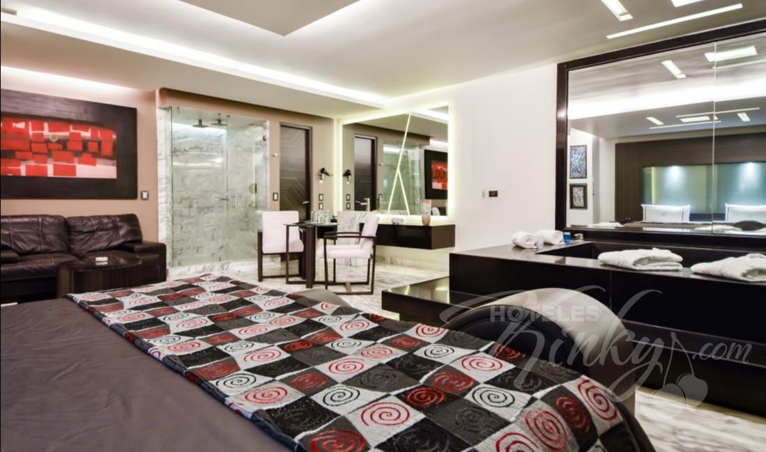 Habitaciòn Jacuzzi del Love Hotel Picasso Toluca