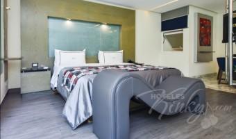 Love Hotel Picasso Toluca, Habitación Jacuzzi con Jardín
