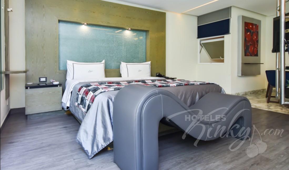 Love Hotel Picasso Toluca, Habitacion Jacuzzi con Jardín