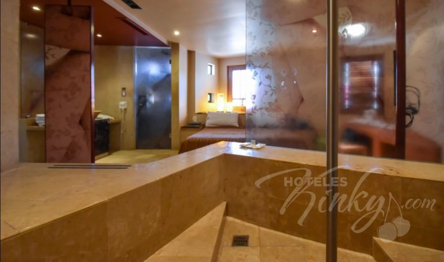Love Hotel Pirámides del Valle, Habitacion Palo de Lluvia