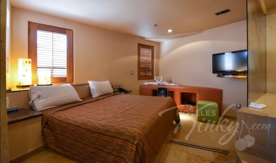 Love Hotel Pirámides del Valle, Habitación Palo de Lluvia
