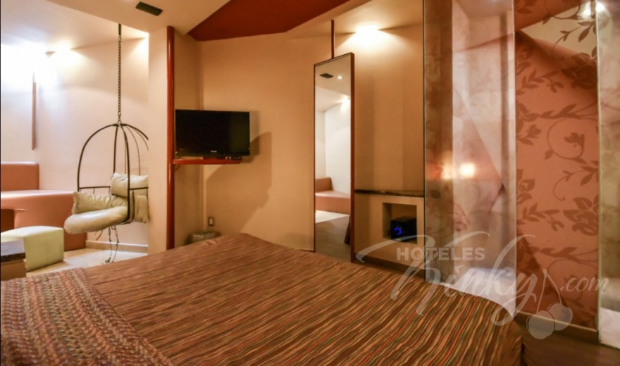 Love Hotel Pirámides del Valle, Habitacion Sencilla