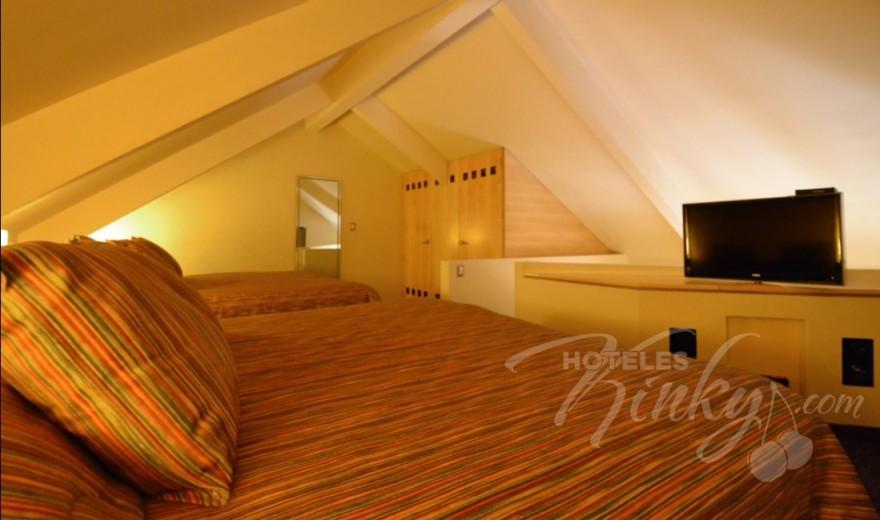 Habitaciòn Doble del Love Hotel Pirámides Narvarte