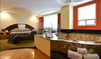 Love Hotel Plaza Camarones Hotel & Villas, Habitacion Torre Jacuzzi