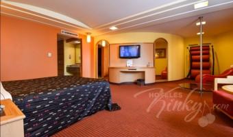 Love Hotel Plaza del Rey Hotel & Villas, Habitación Pole Suite