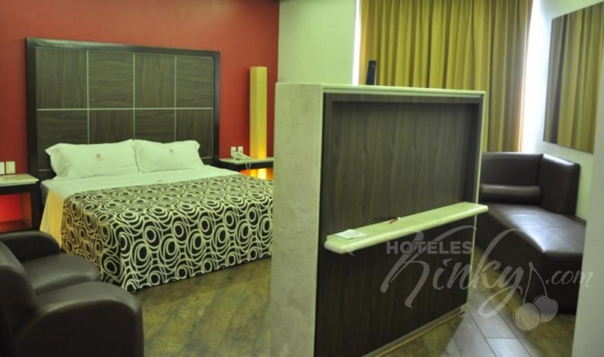 Love Hotel Plutarco Suites, Habitacion Jacuzzi