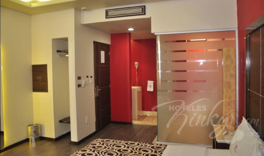 Habitaciòn Suite del Love Hotel Plutarco Suites