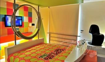 Love Hotel Pop Life, Habitación Villa Sencilla