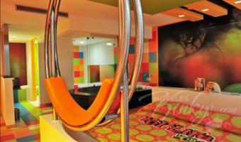 Love Hotel Pop Life, Habitación Villa Suite Jacuzzi