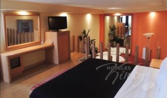 Love Hotel Villa Pórticos, Habitacion  Suite Colchón de Agua