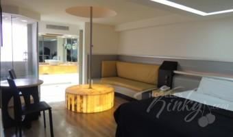Love Hotel Villa Pórticos, Habitacion Master Jacuzzi