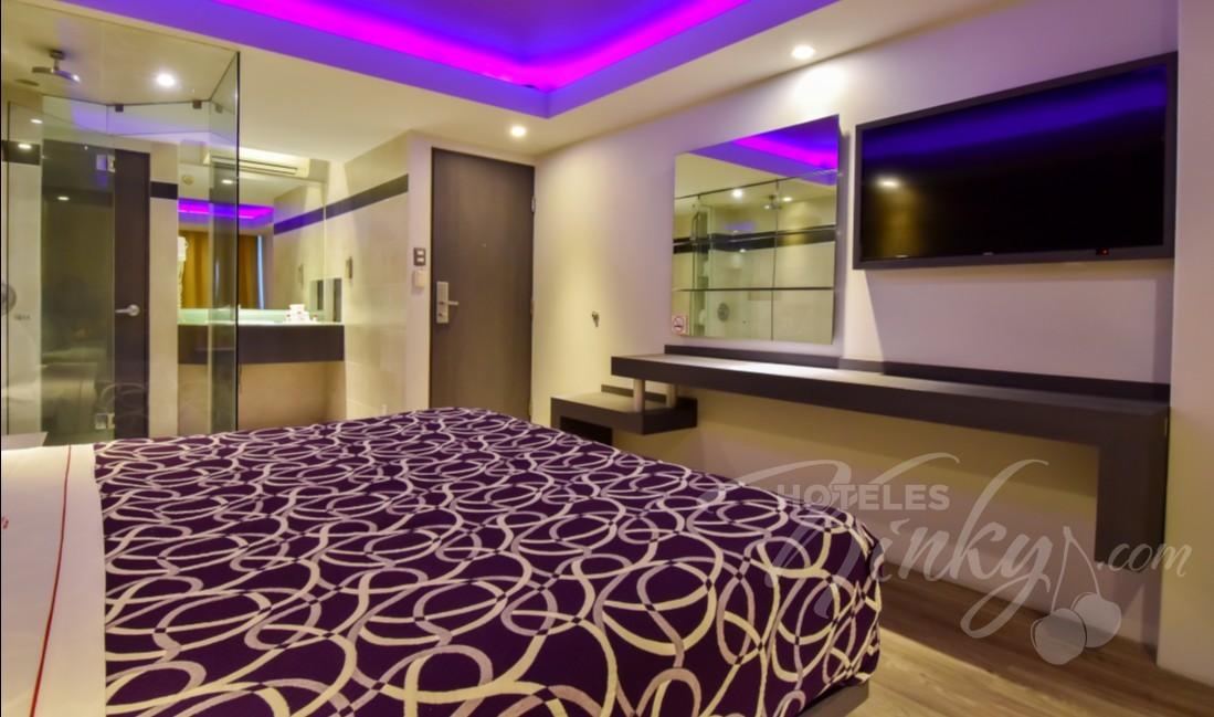 Love Hotel Porto Alegre Motel & Suites, Habitacion Motel Sencilla