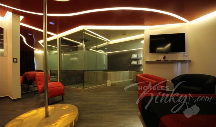 Love Hotel Puente Grande Auto Hotel , Habitacion Jacuzzi VIP