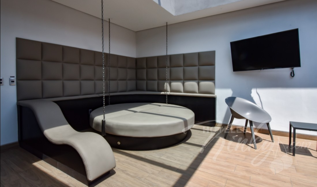 Love Hotel Punto G Elements , Habitacion Sky Dome Jacuzzi